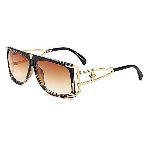 Moda para mujer con gafas de sol Big Square Shape Oversized Women