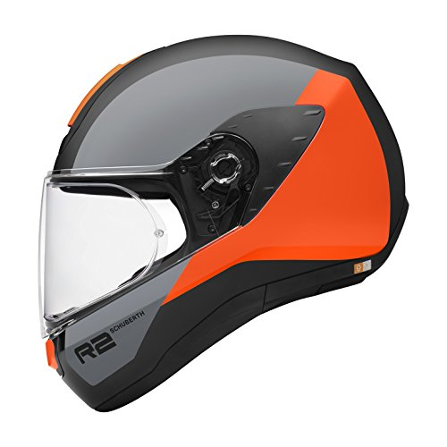 SCHUBERTH R2 Apex Orange Casque Moto Intégral (XS,Orange)