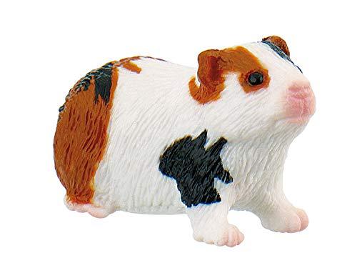 Bullyland 64613 - Figura de Juego, cobaya, Aprox. 2,7 cm de Altura, Figura Pintada a Mano, sin PVC, para Que los niños jueguen con la imaginación