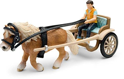 Schleich 42040 - Ponykutsche (mit Pferd)