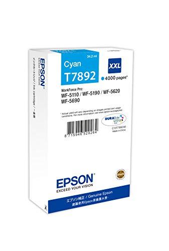 Epson C13T789240 Cartuccia, Ciano, con Amazon Dash Replenishment Ready