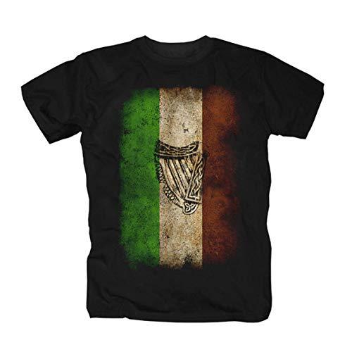 Ireland Celtic Glasgow Dublin irlandesi Pub Birra Camicia Maglietta Shirt Polo T-Shirt XL