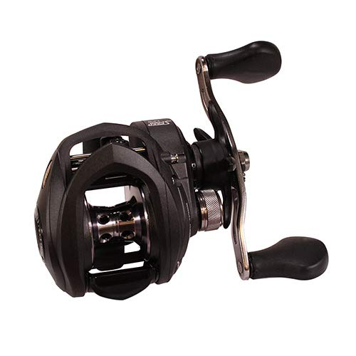 Lews Fishing SS1SHA Speed Spool LFS Baitcasting Reel, 7.5: 1 Gear Ratio, 9Ss+1Rb Bearings, Right Hand