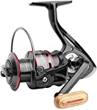 Bnt - Mulinello per la pesca alla carpa e a spinning, 11BB 5.2:1, in metallo, serie 1000, ...