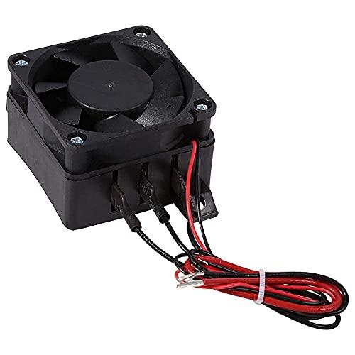 100W 12V PTC de ahorro de energía Ventilador del coche Calentador de aire Temperatura constante Calentadores de elemento calefactor...