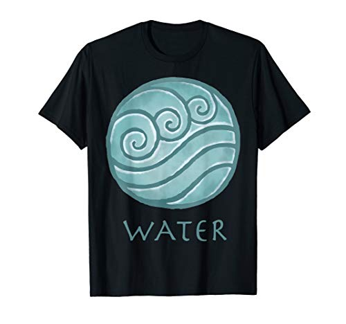 Nickelodeon Avatar The Last Airbender Painted Water Element T-Shirt
