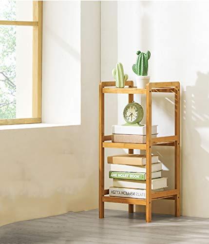 AZJ-AJR Bücherregal, Bücherregal aus Holz Bücherregal Freistehendes, niedriges Bücherregal aus Holz Studenten-Bücherregal Vitrinenschrank Büro Wohnzimmermöbel,Wood