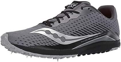 Saucony Men's Kilkenny XC 8 Track Shoe, black/silver, 13 Medium US