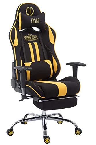 CLP Limit XL (tessuto nero e giallo, con poggiapiedi)