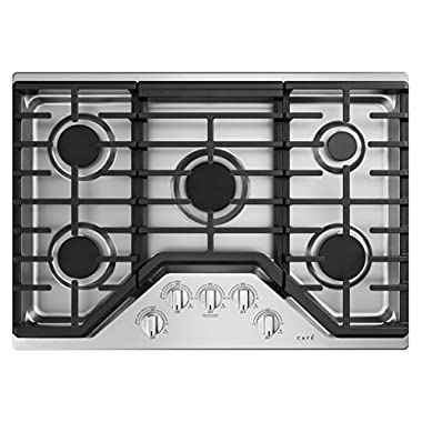 Cafe 30 Gas Cooktop Stainless Steel CGP70302NS1