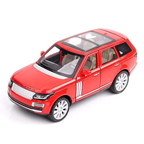 BECCYYLY Diecast Model Coche 1:24 T-OY Car para alcanzar Rover Car T-OY Aleación Coche Diecasts T-OY Vehículos Modelo de automóvil T-OYS para NIÑOS wmpa