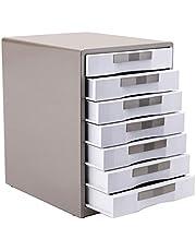 Gabinete de Archivos Suministros de siete capas archivo de bloqueo de metal del gabinete de escritorio del cajón del gabinete de almacenamiento de datos de oficina armario for la Oficina Almacenamient