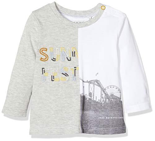 IKKS Junior baby-jongens thee-shirt Bi motief lange mouwen bovendeel