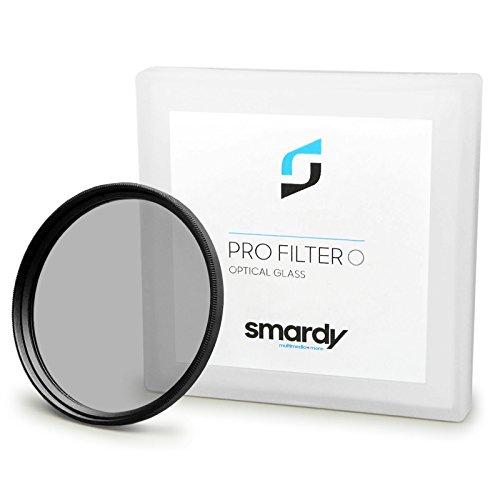 smardy 67mm CPL Polarisationsfilter kompatibel mit Canon EOS 40D, 5D Mark III, 60D, 7D, EOS 1D X, Nikon D5100, D5300, D7000, D7100 + Microfaser Reinigungstuch