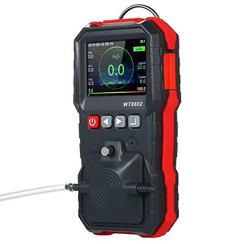BXU-BG Schwefelwasserstoff-Gas-Detektor, High Precision H2S-Sensor-Gas Analyzer, beweglicher Luft Quality Monitor mit Ton Licht Vibrationsalarm for Petroleum Chemical