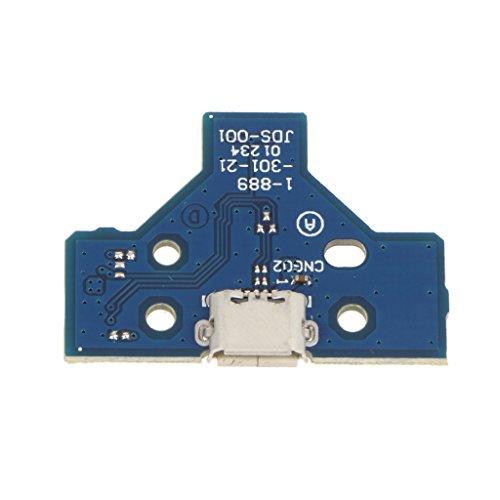 14 Pin Usb Ladeanschluss Ladegerät Steckkarte Jds 001 Für Sony Ps4
