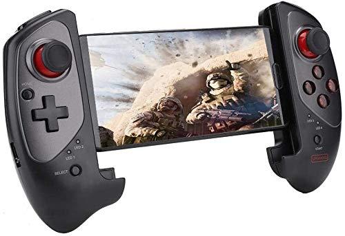 GCX Exquisito Controlador de Juego inalámbrico, Tablet Tablet Smart TV TV Telescópico Gamepad Móvil Recargable Controlador de Juego Soporte de Joystick para Android/iOS Durable (Color : Default)