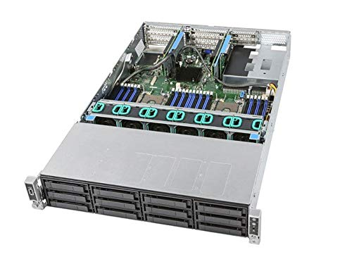 Preisvergleich Produktbild INTEL Server Barebone R2312WFTZS S2600WFT 1x PSU 1300Watt 1x HSBP SAS / NVMe Combo 12 3.5Inch Port 10+11 for NVMe Dual 10GbE RJ45