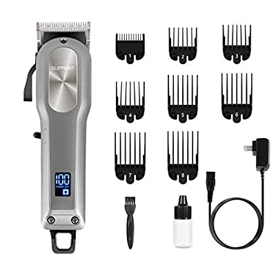 Professional Hair Cutting Kit with 2000mAh Lithium Ion, Stainless steel Blade