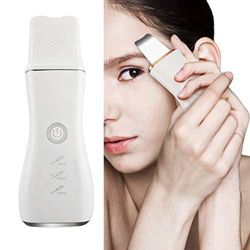 Facial peau scrubber pores Blackhead Remover acné Comedo extracteurs beauté machine pour le visage nettoyage profond exfoliation et anti-aging,Silver