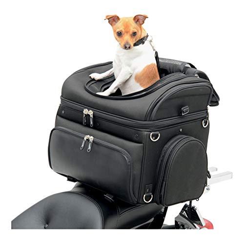 Saddlemen Universal Motorrad Hecktasche für Hunde und Kleintiere