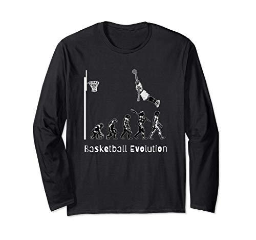 Basketball Evolution Slam Dunk Jugadores de baloncesto Manga Larga