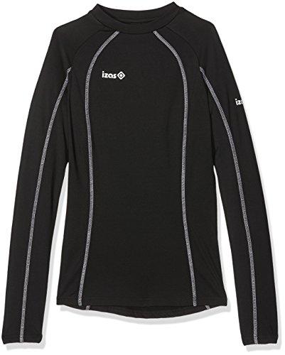 IZAS Ampa – T-Shirt Polaire pour Femme, Couleur Noir, Taille XS