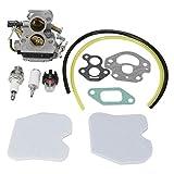 Alinory Reemplazo del carburador 586936202 Kit de carburador de Bobina de Encendido Piezas de Motosierra Recortadora de Hilo de Motor Factory Park para Home Farm