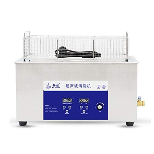 Máquina De Limpieza Ultrasónica Industrial De 22L, Ajuste De Temperatura De Sincronización Y Desgasificación Equipo De Limpieza De Laboratorio De Alta Potencia De 480W, Limpiador De Vibración De Pie