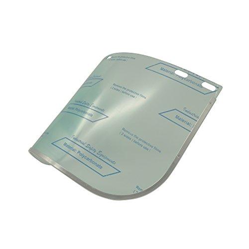 Viwanda, visiera in policarbonato, confezione singola di ricambio per 07-02-SE1760-YTr
