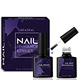 Nail Prep Dehydrator & Bond Primer, Professional Long-Lasting Bonding Primer for Acrylic Powder and Gel Nail Polish