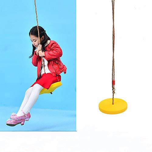 ZJJ Kinder hängen Baumschaukel, Kletterseilleiter mit 2,0 m langlebigem Seil Maximale Belastung 60 kg für Babyspiel im Freien Indoor Hinterhof Garten