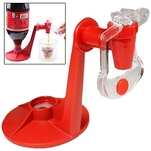 Angoter Magia del Rubinetto Erogatore della Soda del Risparmiatore Bottiglia di Coca Cola Capovolto Acqua Potabile Dispensare Party Bar Gadget da Cucina Drink Machines