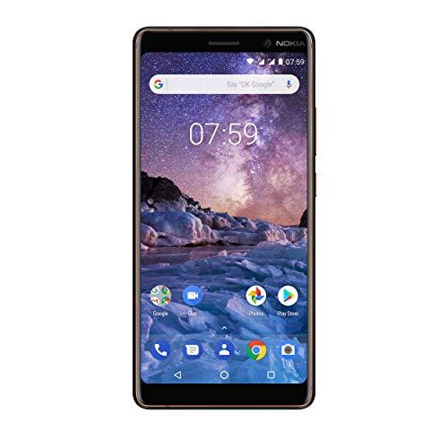 Nokia 7 Plus nero Copper Dual SIM sbloccato senza contratto
