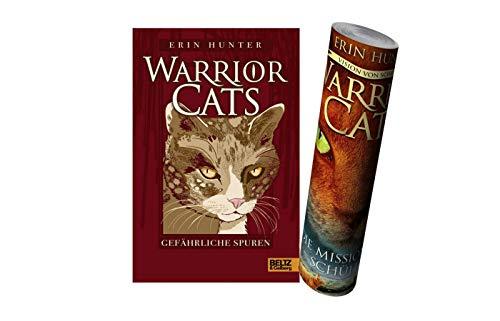 WARRIOR CATS: Gefährliche Spuren: I, Band 5 (Gebundenes Buch) + Warrior Cats Poster