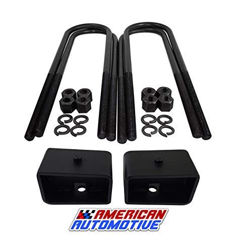 American Automotive 1999+ F250 F350 3' Rear Lift Blocks SuperDuty Kit 2WD 4WD &...