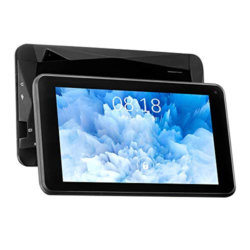TJD MT-701QU 7 inch Tablet,Android 10.0,1GB RAM 16GB ROM,Front 0.3MP, Rear 2.0MP Camera,Bluetooth,WiFi,G-Sensor,Diamond Shaped Designed Back,Black