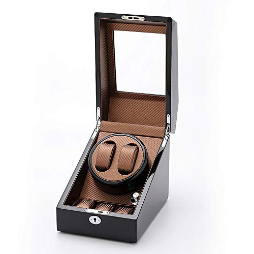 Guarda Winder Modi di Rotazione Watch Winder 5 con 2 posti tortuose e 3 Serbatoi (Color : A4, Size : One Size)