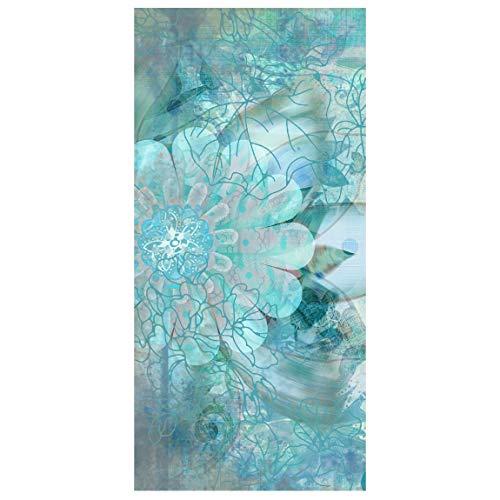Apalis Panel japones Winter Flowers 250x120cm | Paneles japoneses separadores de ambientes Cortina Paneles japoneses Cortina Cortinas | Tamaño: 250 x 120cm sin Soporte