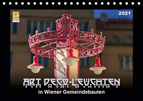 Art Déco-Leuchten (Tischkalender 2021 DIN A5 quer)