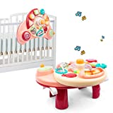UNIH Baby Activity Table 6 to 12-18 Months, 3 in 1 Musical Learning Table Baby Activity Center for Boys Girls 1 Year Old