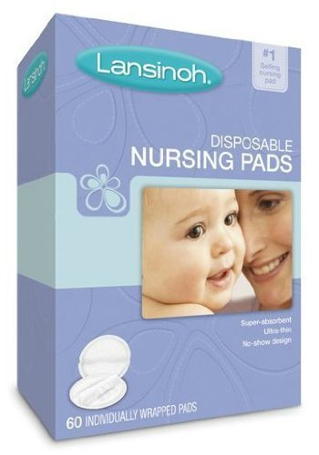 Lansinoh Disposable Nursing Pads – 60 ct (Pack Of 2) Size : Pack Of 2 (Baby/Babe/Infant – Little ones)