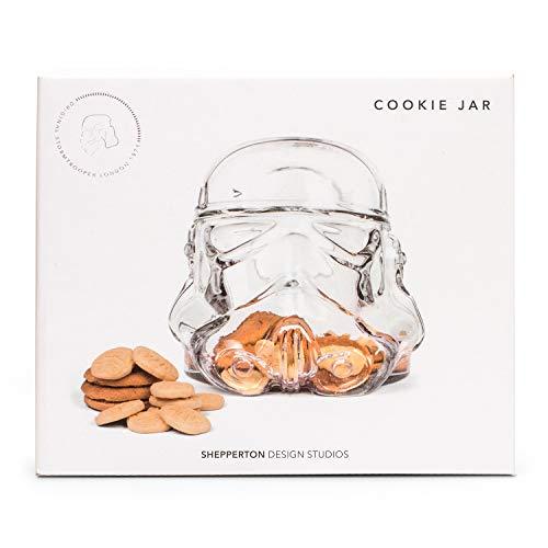 Original Stormtrooper 1 Cookie Jar, Vetro, Trasparente, 22 x 20,5 x 20 cm