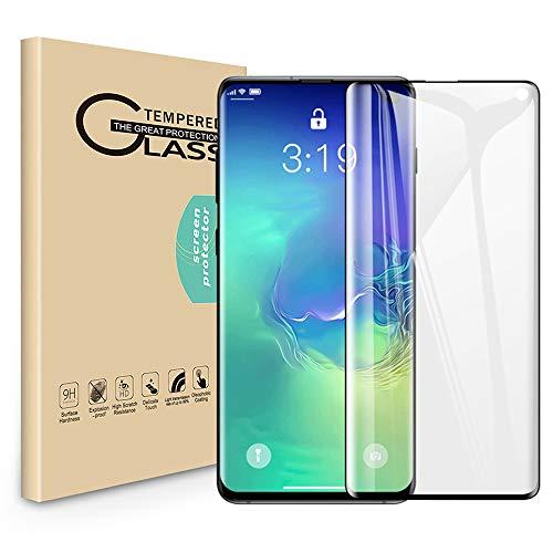 Seinal Panzerglas Schutzfolie kompatibel für Samsung Galaxy S10 [2 Stück] 3D Full Screen Displayschutzfolie Panzerglasfolie Tempered Glass 3D Touch Screen Protector Glass Bläschenfrei