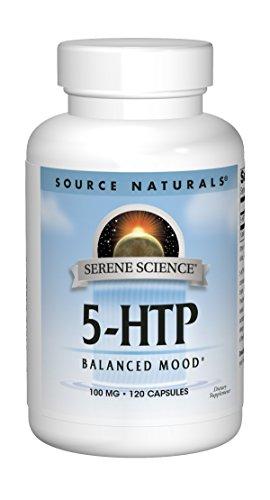 SOURCE NATURALS Serene Science 5-HTP 100 Mg Capsule, 120 Count