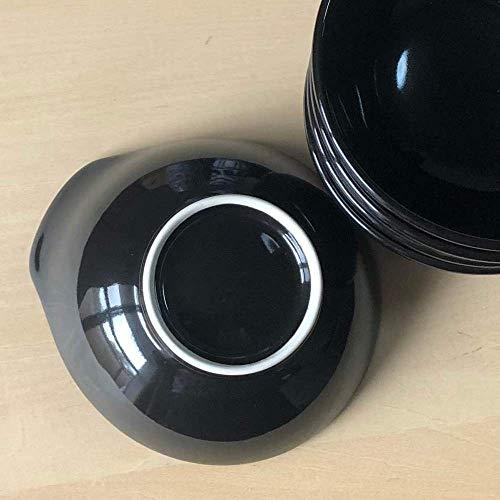 漆黒 とんすい 5個セット