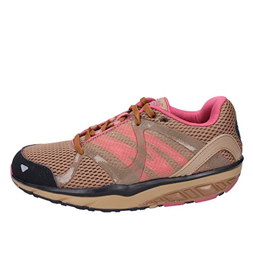 MBT Damen Leasha Trail 5 Lace Up Fitnessschuhe, Oli Nt DST Gr Rub Blk SIL, 36 EU