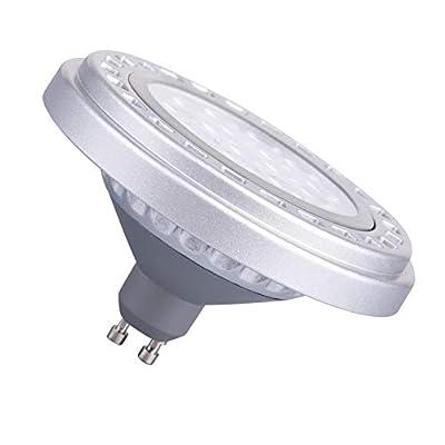 Dimmable GU10 Base AR111 15W 30°Beam Angle SMD LED Bulb 3000k Warm Light AC120V Spot Down Lights 1200Lm