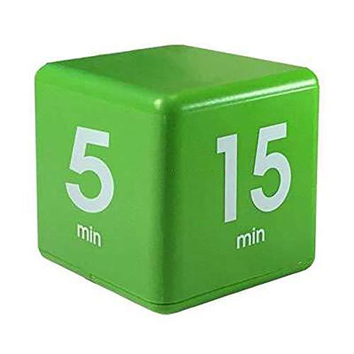 Catforest Clock Kitchen Timer Snooze Reminder Wecker 5, 15, 30 und 60 Minuten grün