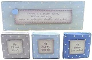 East Of India - Blue Triple Box Set of First Keepsakes by East of India